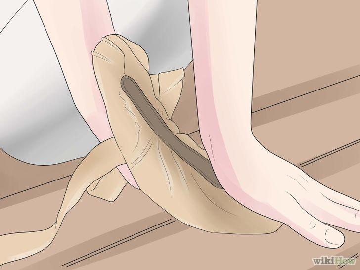 3d625e7eb9 Come preparare le scarpette da punta - Alessandra Celentano