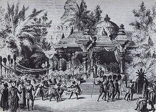 Scena del II atto, Litografia del 1877
