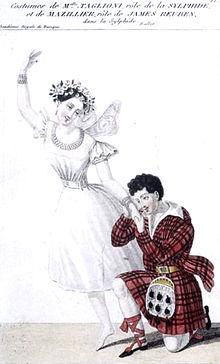Maria Taglioni e Joseph Mazillier